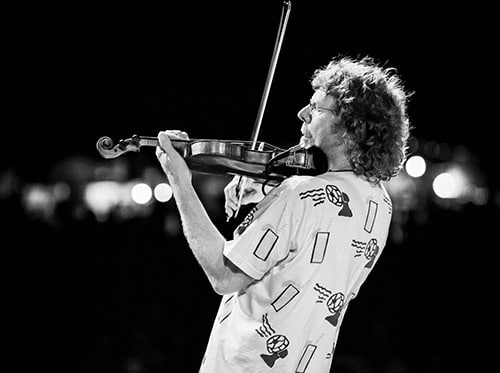 Sam Bush at Blue Ox Music Festival