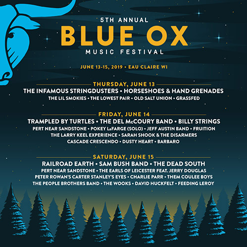 Railroad Square Music Festival 2020 Daily Lineup is Here!   Blue Ox Music Festival