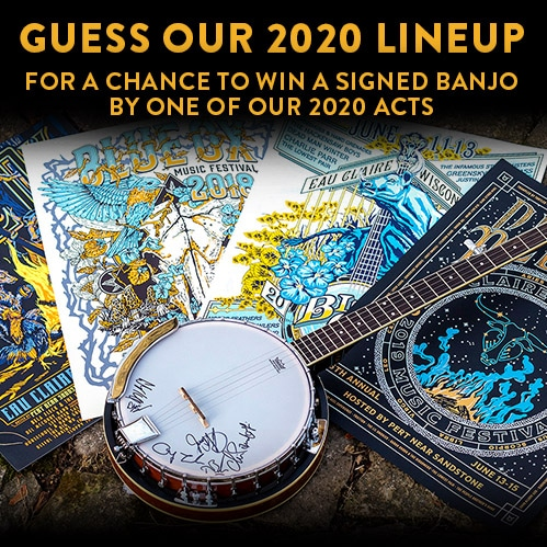 2020 Guess our Lineup Contest - Blue Ox Music Festival