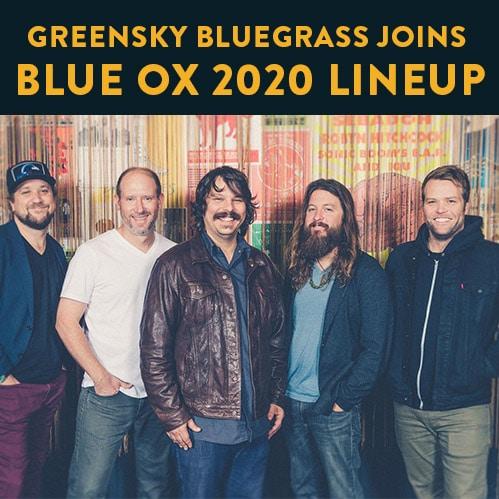 Greensky Bluegrass joins Blue Ox Music Festival lineup